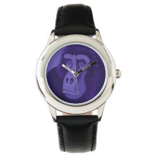 Violette Gorilla-Uhr Uhr