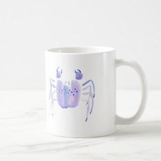 Violette Krabbe Kaffeetasse