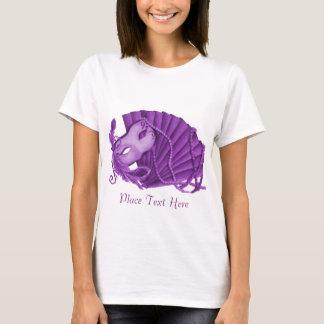 Violette Maskerade T-Shirt