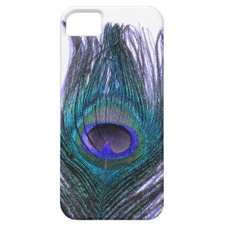 Violette Pfau-Feder iPhone 5 Cover
