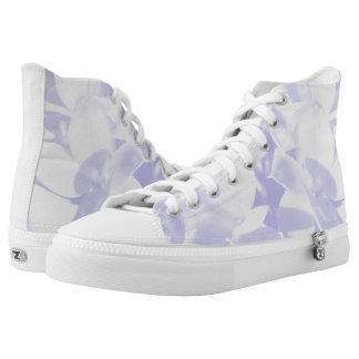 Violette Turnschuhe Hoch-geschnittene Sneaker