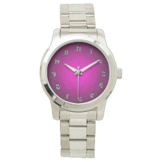Violette Uhr