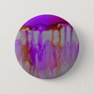 Violetter Horizont Runder Button 5,1 Cm