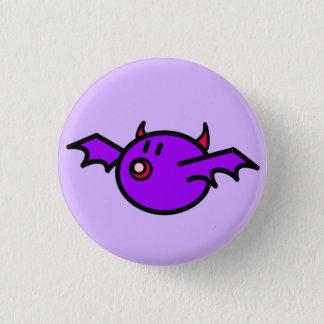 Violetter Schläger Runder Button 2,5 Cm