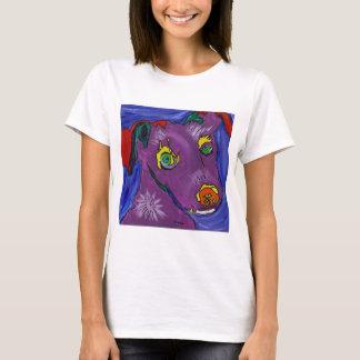 VIOLETTER Spaghetti-Bügel-Behälter (Erwachsener) T-Shirt
