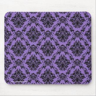 Violettes barockes gotisches viktorianisches mousepad