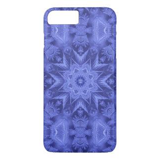 Violettes blaues Frost iPhone 8 Plus/7 Plus Hülle
