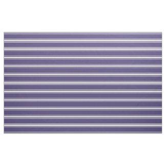 Violettes Streifengewohnheitsgewebe Stoff