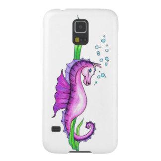 Violettes Wasser-Pferd Hülle Fürs Galaxy S5