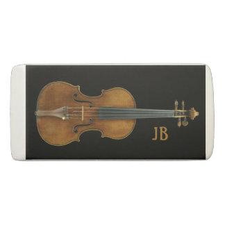 Violine durch Stradivari mit kundenspezifischen Radiergummi