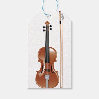 Violine Geschenkanhänger