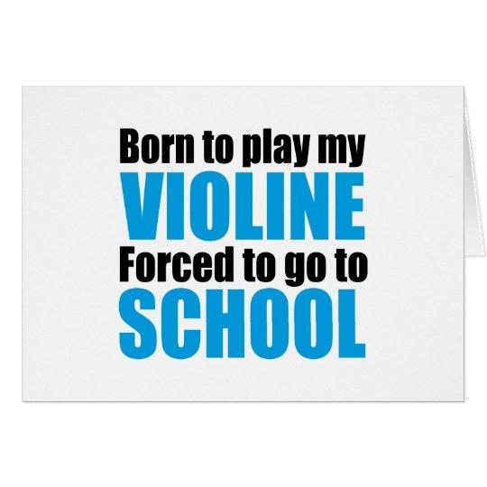 violine karte