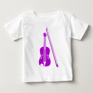 Violine - lila baby t-shirt