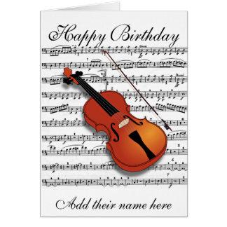 Violine Lover_ Karte