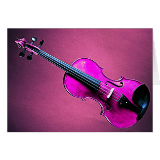 Violine oder Viola-Gruß-oder Karte