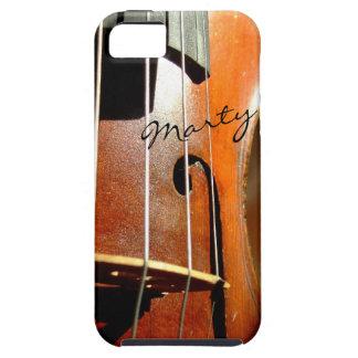 Violine personalisierter iPhone Fall iPhone 5 Etuis