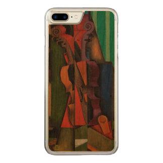 Violine und Gitarre durch Juan Gris Carved iPhone 8 Plus/7 Plus Hülle