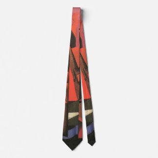 Violine und Gitarre durch Juan Gris, Vintage Krawatte