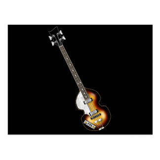 Violinen-Bass-Gitarre Postkarte