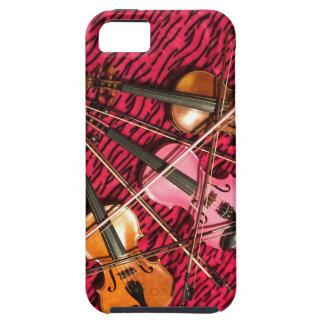 Violinen-Fotogeschenke Tough iPhone 5 Hülle