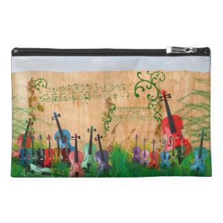 Violinen-Garten Reisekulturtasche