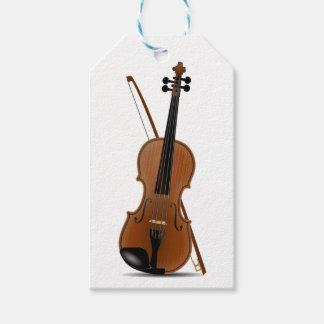 Violinen-Liebhaber, klassische Geschenkanhänger