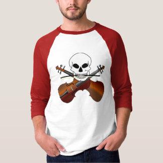 Violinen-Pirat T-Shirt
