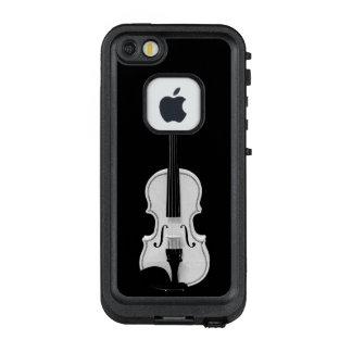 Violinen-Porträt - Schwarzweiss-Fotografie LifeProof FRÄ' iPhone SE/5/5s Hülle