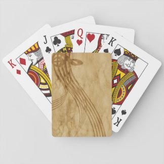 Violinenschlüssel Spielkarten