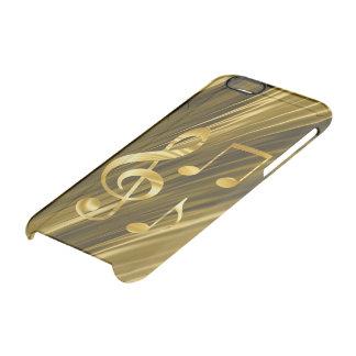 ViolinenSchlüsselgoldenes Durchsichtige iPhone 6/6S Hülle