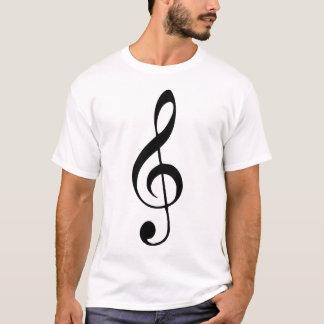 Violinenschlüsselmusik T-Shirt