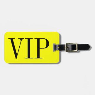 Vip-Gepäckanhänger für Taschen und Koffer Adress Schild