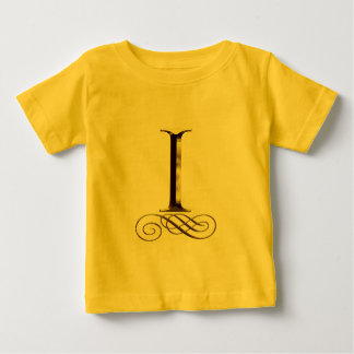 """Vip-Gold"""" ich"""" Monogramm Baby T-shirt"""