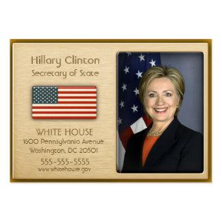 Vip-Gold mit amerikanische Flaggen-Visitenkarten Jumbo-Visitenkarten