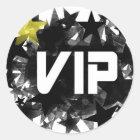 VIP RUNDER AUFKLEBER