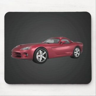 Viper Hart-Spitze Muskel-Auto: Süßigkeit Apple: Mousepad