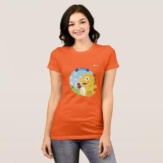 VIPKID Belgien T - Shirt (orange)