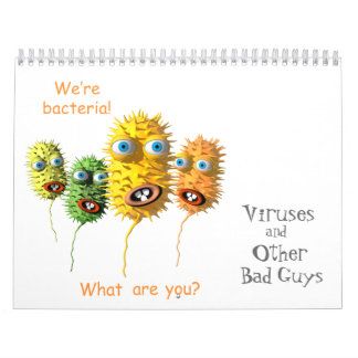 Viren und andere schlechte Typen Kalender