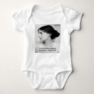 Virginia anonymes Woolf war ein Frauen-Zitat Baby Strampler