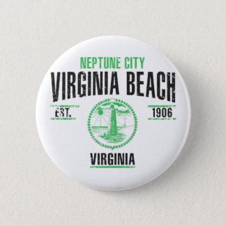 Virginia Beach Runder Button 5,1 Cm