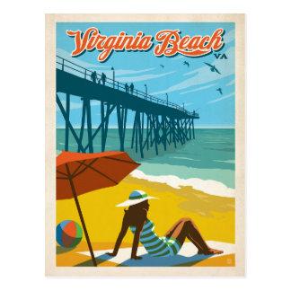 Virginia Beach, VA Postkarte