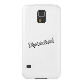 Virginia- BeachLeuchtreklame im Weiß Hülle Fürs Galaxy S5