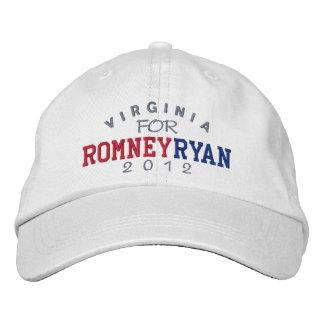 Virginia Mitt Romney Paul Ryan 2012 Bestickte Kappe