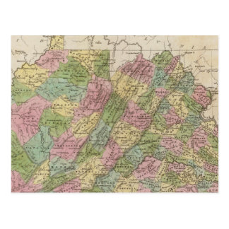 Virginia Postkarte