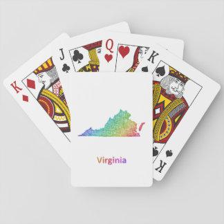 Virginia Spielkarten
