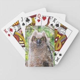 Virginia-Uhu Spielkarten