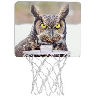 Virginia-Uhuporträt Mini Basketball Netz