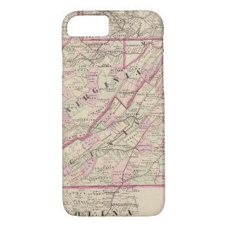 Virginia und West Virginia iPhone 8/7 Hülle
