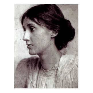 Virginia Woolf, 1902 Postkarte