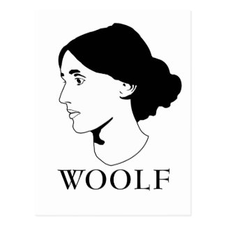 Virginia Woolf Postkarte